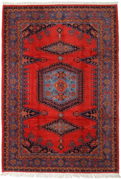 Wiss Tapis 256X368 D'orient Fait Main Rouille/Rouge/Rouge Foncé Grand (Laine, Perse/Iran)