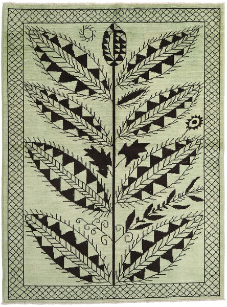 Ziegler Moderne Tapis 172X233 Moderne Fait Main Vert Clair/Noir (Laine, Pakistan)