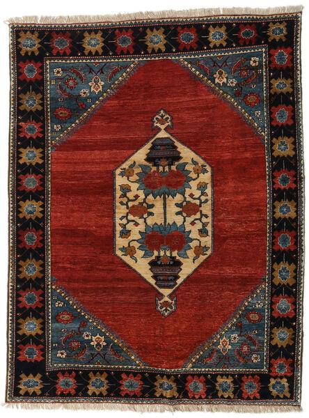 Ziegler Moderne Tapis 177X213 Moderne Fait Main Noir/Rouge (Laine, Pakistan)