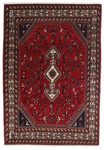 Ghashghaï Tapis 100X150 D'orient Fait Main Rouge Foncé/Marron Foncé (Laine, Perse/Iran)