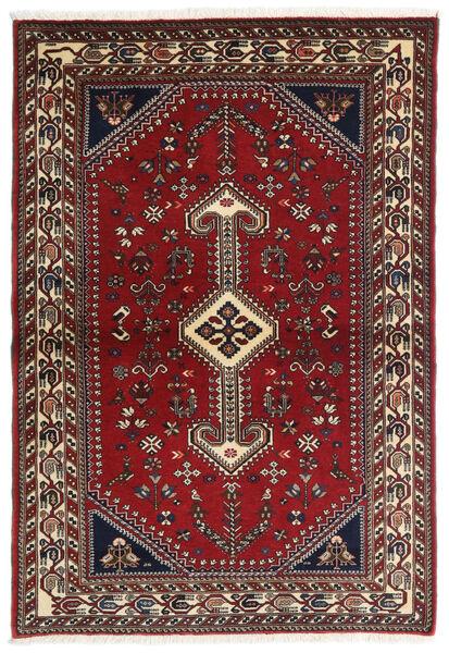 Ghashghaï Tapis 100X148 D'orient Fait Main Rouge Foncé/Beige (Laine, Perse/Iran)