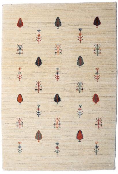 Loribaft Persan Tapis 104X151 Moderne Fait Main Beige/Gris Clair (Laine, Perse/Iran)