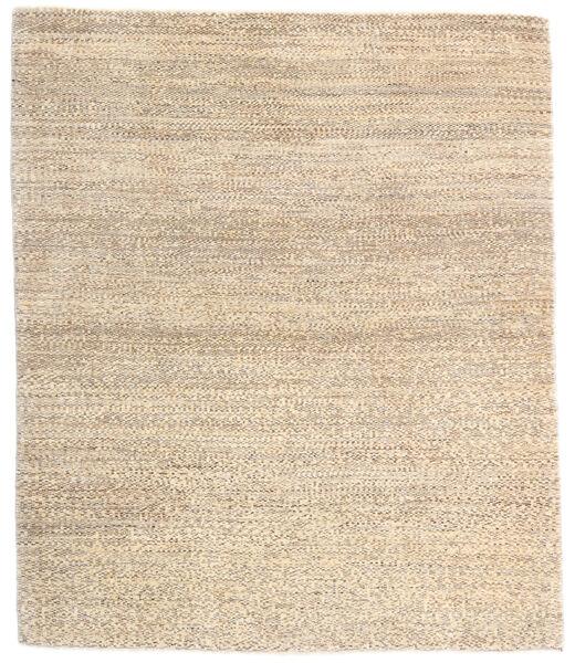 Loribaft Persan Tapis 131X155 Moderne Fait Main Beige/Gris Clair (Laine, Perse/Iran)