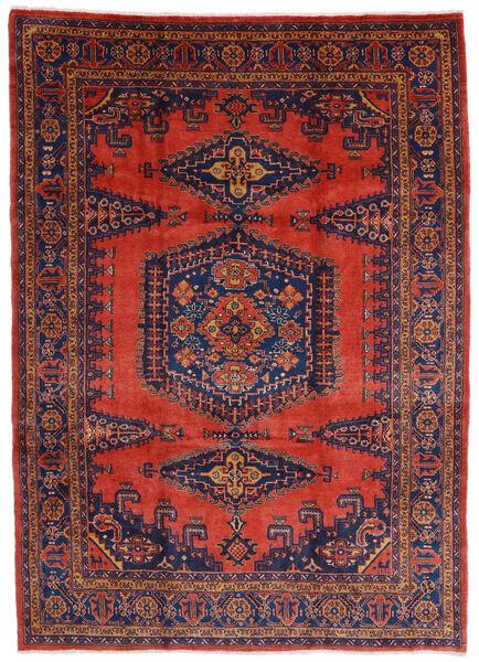 Wiss Tapis 245X340 D'orient Fait Main Rouge Foncé/Rouille/Rouge (Laine, Perse/Iran)