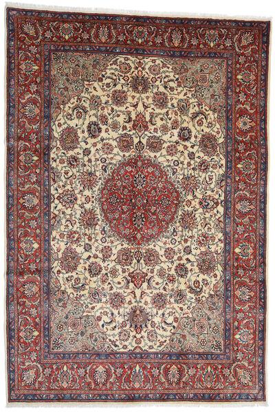 Sarough Tapis 273X404 D'orient Fait Main Rouge Foncé/Marron Foncé Grand (Laine, Perse/Iran)