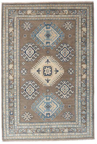 Kazak Tapis 117X173 D'orient Fait Main Gris Clair/Gris Foncé (Laine, Afghanistan)
