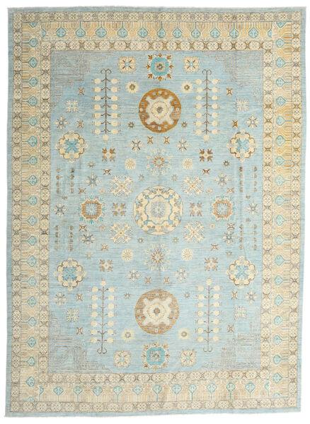 Ziegler Ariana Tapis 306X422 D'orient Fait Main Gris Clair/Bleu Turquoise Grand (Laine, Afghanistan)