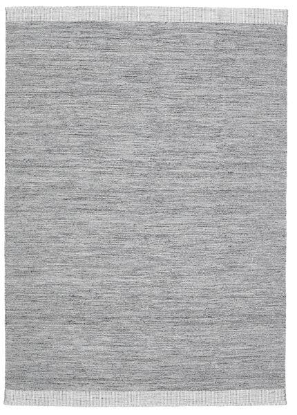 Serafina - Gris Foncé Melange Tapis 160X230 Moderne Tissé À La Main Gris Clair/Bleu Clair (Laine, Inde)