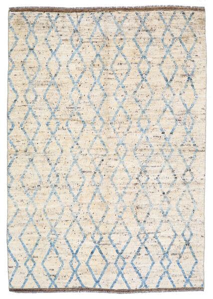 Moroccan Berber - Afghanistan Tapis 172X240 Moderne Fait Main Beige/Gris Clair (Laine, Afghanistan)
