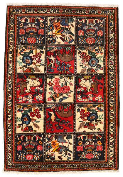 Bakhtiar Collectible Tapis 113X161 D'orient Fait Main Marron Foncé/Rouge (Laine, Perse/Iran)