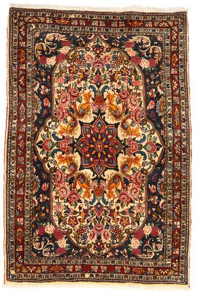Bakhtiar Collectible Tapis 110X165 D'orient Fait Main Marron Foncé/Rouge Foncé (Laine, Perse/Iran)