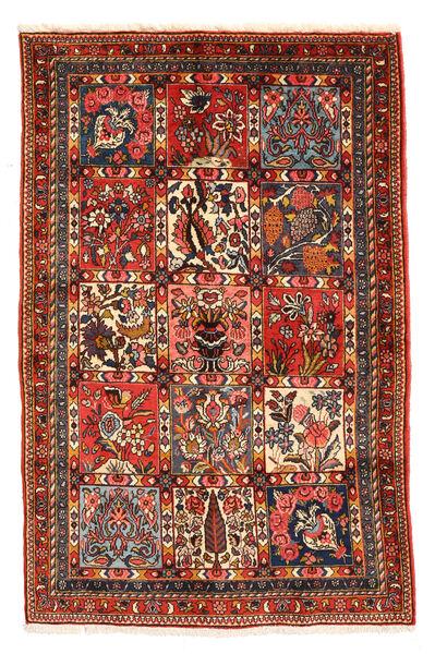 Bakhtiar Collectible Tapis 98X150 D'orient Fait Main Marron Foncé/Rouge Foncé (Laine, Perse/Iran)