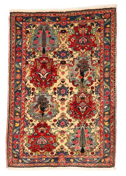 Bakhtiar Collectible Tapis 111X158 D'orient Fait Main Marron Foncé/Rouille/Rouge (Laine, Perse/Iran)