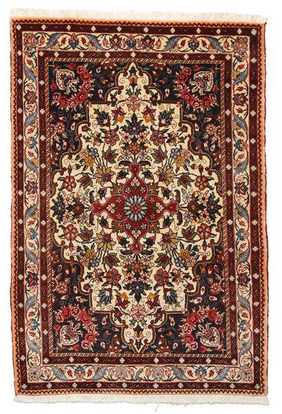 Bakhtiar Collectible Tapis 105X156 D'orient Fait Main Marron Foncé/Rouge Foncé (Laine, Perse/Iran)