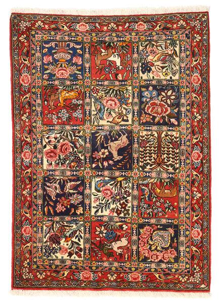 Bakhtiar Collectible Tapis 110X154 D'orient Fait Main Marron Foncé/Rouge Foncé (Laine, Perse/Iran)