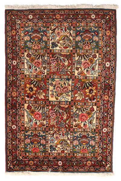 Bakhtiar Collectible Tapis 102X151 D'orient Fait Main Marron Foncé/Rouge Foncé (Laine, Perse/Iran)