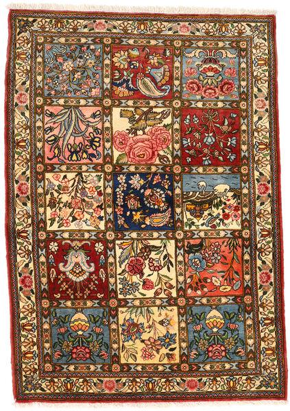 Bakhtiar Collectible Tapis 111X158 D'orient Fait Main Marron Foncé/Marron (Laine, Perse/Iran)