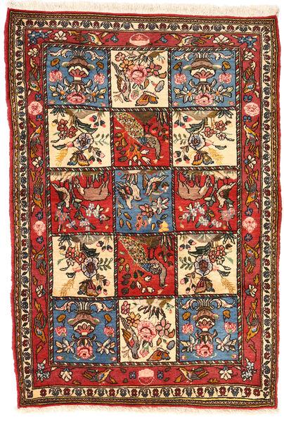 Bakhtiar Collectible Tapis 102X152 D'orient Fait Main Marron Foncé/Beige (Laine, Perse/Iran)