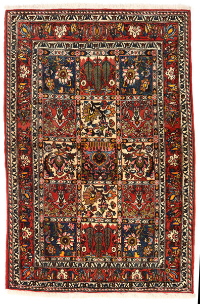 Bakhtiar Collectible Tapis 108X162 D'orient Fait Main Marron Foncé/Marron Clair (Laine, Perse/Iran)