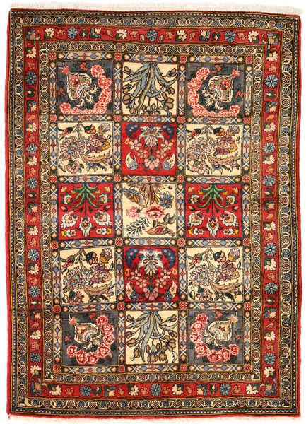 Bakhtiar Collectible Tapis 105X148 D'orient Fait Main Gris Foncé/Marron (Laine, Perse/Iran)