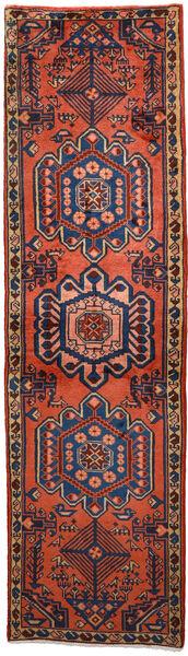 Wiss Tapis 62X219 D'orient Fait Main Tapis Couloir Rouge Foncé/Noir (Laine, Perse/Iran)
