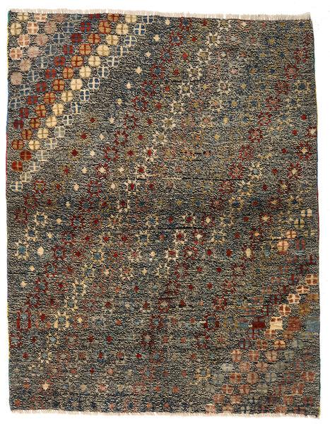 Moroccan Berber - Afghanistan Tapis 121X186 Moderne Fait Main Gris Foncé/Marron (Laine, Afghanistan)