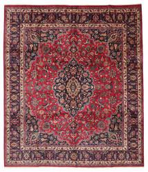 Mashad Signé: Maebodi Tapis 303X360 D'orient Fait Main Grand (Laine, Perse/Iran)