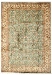 Cachemire Pure Soie Tapis 223X313 D'orient Fait Main (Soie, Inde)
