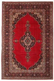 Kashan Patina Tapis 240X374 D'orient Fait Main Rouge Foncé/Marron Foncé (Laine, Perse/Iran)
