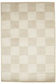 Pacific Line Square - Blanc/Beige Tapis 170X240 Moderne Fait Main Beige Foncé/Beige ( Inde)