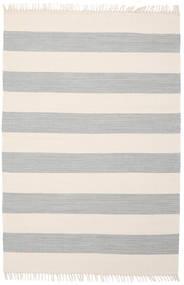 Cotton Stripe - Steel Grey Tapis 140X200 Moderne Tissé À La Main Beige/Gris Clair (Coton, Inde)