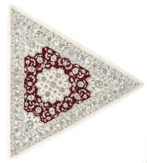 Naïn 9La Tapis 250X250 D'orient Fait Main Beige/Gris Clair Grand (Laine/Soie, Perse/Iran)