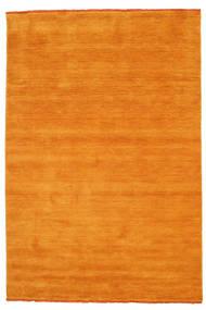 Handloom Fringes - Orange Tapis 160X230 Moderne Jaune/Marron Clair/Orange (Laine, Inde)