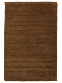 Handloom Fringes - Marron Tapis 160X230 Moderne Marron (Laine, Inde)