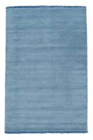 Handloom Fringes - Bleu Clair Tapis 100X160 Moderne Bleu Clair (Laine, Inde)
