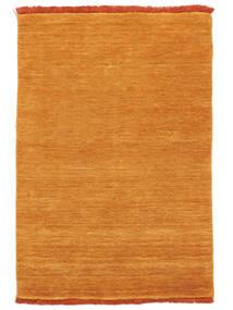 Handloom Fringes - Orange Tapis 80X120 Moderne Jaune/Marron Clair (Laine, Inde)