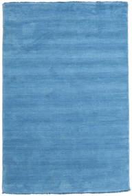 Handloom Fringes - Bleu Clair Tapis 120X180 Moderne Bleu Clair/Bleu (Laine, Inde)
