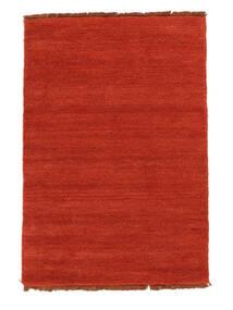 Handloom Fringes - Rouille/Rouge Tapis 140X200 Moderne Rouille/Rouge (Laine, Inde)