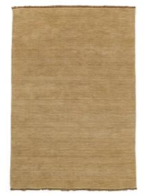 Handloom Fringes - Beige Tapis 140X200 Moderne Beige Foncé/Marron Clair (Laine, Inde)