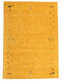 Gabbeh Loom Frame - Jaune Tapis 160X230 Moderne Orange (Laine, Inde)