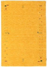 Gabbeh Loom Frame - Jaune Tapis 140X200 Moderne Orange (Laine, Inde)