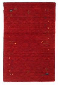 Gabbeh Loom Frame - Rouge Tapis 100X160 Moderne Rouge/Rouge Foncé (Laine, Inde)