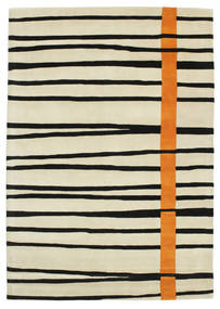 Gummi Twist Handtufted - Orange Tapis 160X230 Moderne Beige Foncé/Beige/Noir (Laine, Inde)