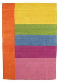 Colors By Meja Handtufted Tapis 160X230 Moderne Orange/Rose Clair (Laine, Inde)