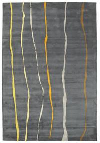 Flaws Handtufted - Gris Tapis 200X300 Moderne Gris Clair/Gris Foncé/Bleu (Laine, Inde)