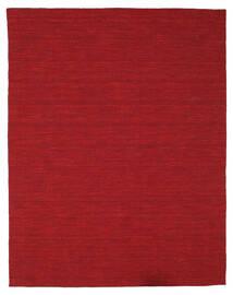 Kilim Loom - Rouge Foncé Tapis 200X250 Moderne Tissé À La Main Rouge (Laine, Inde)