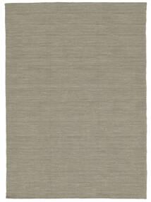 Kilim Loom - Gris Clair/Beige Tapis 140X200 Moderne Tissé À La Main Gris Clair (Laine, Inde)