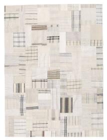 Kilim Patchwork Tapis 170X230 Moderne Tissé À La Main Beige/Gris Clair (Laine, Turquie)