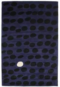 Camouflage Handtufted - Foncé Tapis 200X300 Moderne Noir/Bleu Foncé (Laine, Inde)