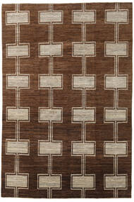 Ziegler Moderne Tapis 195X292 Moderne Fait Main Marron/Marron Foncé (Laine, Pakistan)